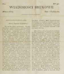 Wiadomości Brukowe. Nr 252 (1821)