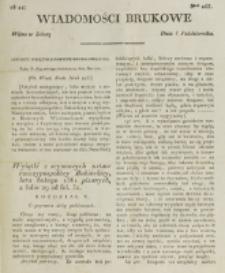 Wiadomości Brukowe. Nr 253 (1821)