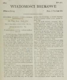 Wiadomości Brukowe. Nr 254 (1821)
