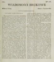 Wiadomości Brukowe. Nr 255 (1821)