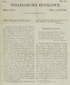 Wiadomości Brukowe. Nr 256 (1821)
