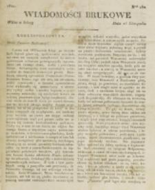 Wiadomości Brukowe. Nr 257 (1821)