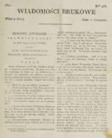 Wiadomości Brukowe. Nr 258 (1821)