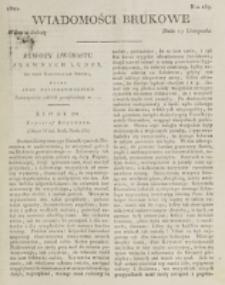 Wiadomości Brukowe. Nr 259 (1821)