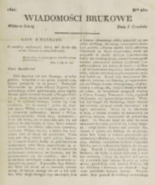 Wiadomości Brukowe. Nr 261 (1821)