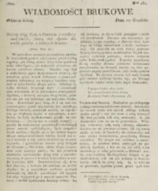 Wiadomości Brukowe. Nr 262 (1821)