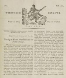 Wiadomości Brukowe. Nr 264 (1821)