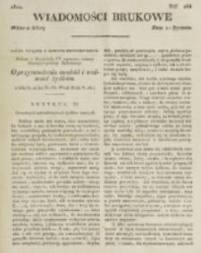 Wiadomości Brukowe. Nr 268 (1822)