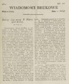 Wiadomości Brukowe. Nr 271 (1822)