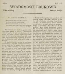 Wiadomości Brukowe. Nr 273 (1822)