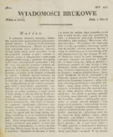Wiadomości Brukowe. Nr 274 (1822)