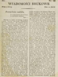 Wiadomości Brukowe. Nr 275 (1822)