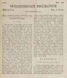 Wiadomości Brukowe. Nr 276 (1822)