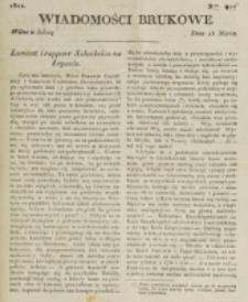 Wiadomości Brukowe. Nr 277 (1822)