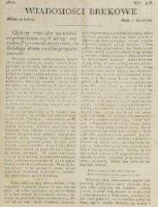 Wiadomości Brukowe. Nr 278 (1822)