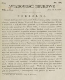 Wiadomości Brukowe. Nr 280 (1822)