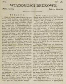 Wiadomości Brukowe. Nr 282 (1822)