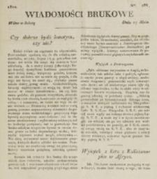 Wiadomości Brukowe. Nr 286 (1822)