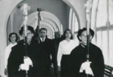 Na korytarzu KUL-owskim. Poczet Sztandarowy