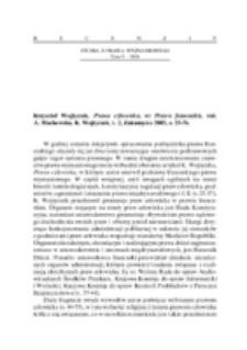 Recenzja : Krzysztof Wojtyczek, Prawa człowieka, w Prawo francuskie, red. A. Machowska, K. Wojtyczek, t. 2, Zakamycze 2005, s. 25-76.