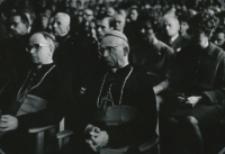 Widok auli w czasie uroczystości inauguracyjnych roku akademickiego