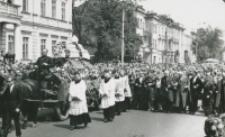 Pogrzeb Śp. Księdza Biskupa Henryka Strąkowskiego - Karawan na Krakowskim Przedmieściu w Lublinie