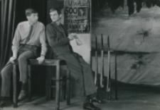 "Teatr Akademicki KUL : ""Moc i chwała"" G. Greene'a : [scena] na posterunku : komendant i porucznik"
