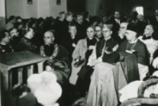 W czasie kazania Ks. Prymasa.