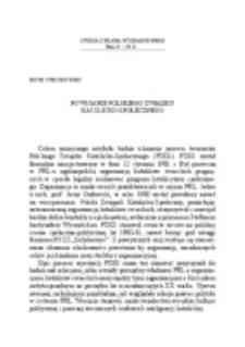 Powstanie Polskiego Związku Katolicko-Społecznego.