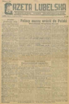 Gazeta Lubelska. R. 1, nr 109 (1945)