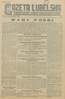Gazeta Lubelska. R. 1, nr 84 (1945)