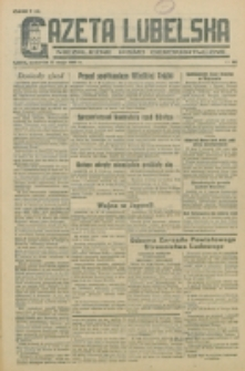 Gazeta Lubelska. R. 1, nr 88 (1945)