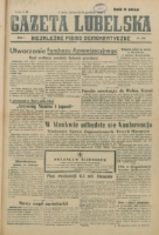 Gazeta Lubelska. R. 1, nr 280 (1945)