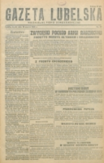 Gazeta Lubelska. R. 1, nr 37 (1945)