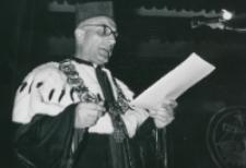 Część 2: Tydzień Katolickiego Uniwersytetu Lubelskiego 31. V. - 7. VI. 1964 r. : Przemówienie powitalne J. M. Ks. Prof. M. Rechowicz - Rektor KUL