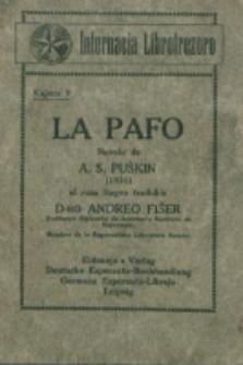 La pafo : novelo / de A. S. Puŝkin ; el rusa lingvo tradukis Andreo Fiŝer.