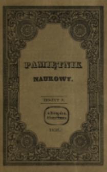 Pamiętnik Naukowy. T. 3, z. 9 (1837)