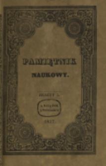 Pamiętnik Naukowy. T. 2, z. 5 (1837)