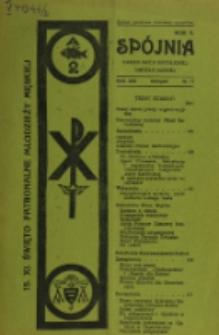 Spójnia : okólnik Akcji Katolickiej Diecezji Łuckiej. R. 2, nr 11 (1936)
