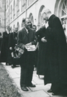Wykłady dla duchowieństwa 1966 - podczas przerwy