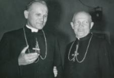 Obrady Teologów Polskich wrzesień 1966 - Ks. abp K. Wojtyła i ks. bp M. Klepacz