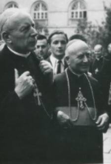 Obrady Teologów Polskich wrzesień 1966 - Ks. Stefan Kardynał Wyszyński z Ks. bp P.Kałwą