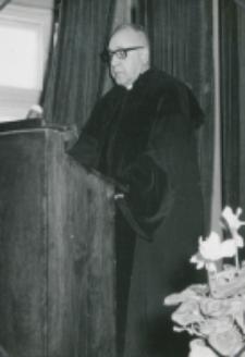 Inauguracja roku akademickiego 1965/66 : wykład wygłasza ks. prof. A. Petrani