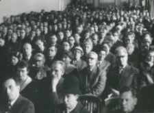 Inauguracja roku akademickiego 1965/66 : widok na aulę