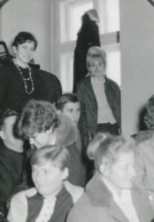 Inauguracja roku akademickiego 1965/66 : fragment auli