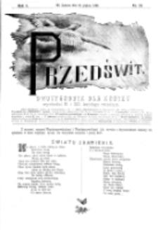 Przedświt : dwutygodnik dla kobiet. R. 1, nr 24 (1893)
