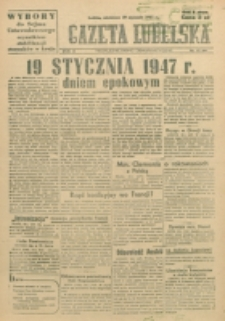 Gazeta Lubelska. R. 3, nr 17 (1947)