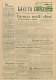 Gazeta Lubelska. R. 3, nr 26 (1947)