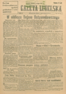 Gazeta Lubelska. R. 3, nr 33 (1947)