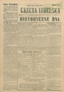 Gazeta Lubelska. R. 3, nr 37 (1947)